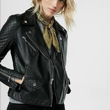 (Minus The) Leather Quilted Moto Jacket