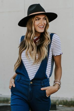 Summit Stripe Top